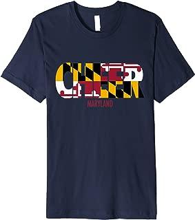 Maryland Cheer T-Shirt for Cheerleaders