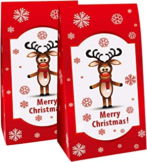 pajoma Adventskalender Rudolph, 1 x 24 Tüten individuell be