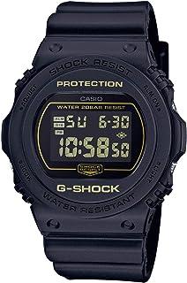 Casio Mens Digital Watch, Digital Display and Plastic Strap DW-5700BBM-1ER