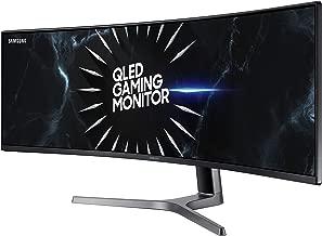 Samsung Double QHD CRG9 Series 49-Inch Curved Gaming Monitor (LC49RG90SSNXZA), Black (Renewed)