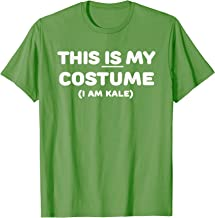 THIS IS MY COSTUME: Kale Vegetable Halloween Green Funny T-Shirt