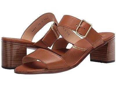 Gravati Double Strap Heeled Sandal (Cuoio) Women