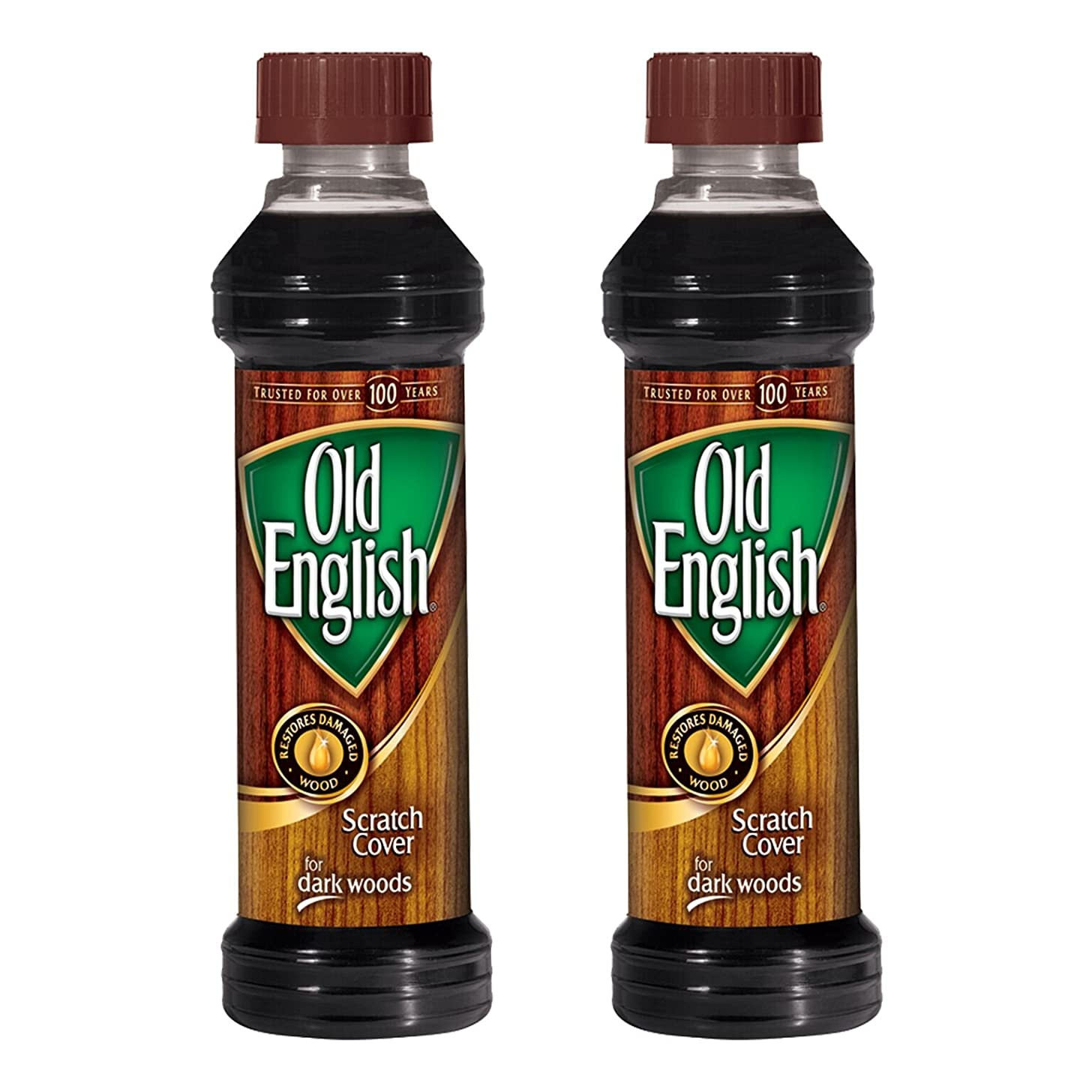 Old English Scratch Cover For Dark Woods Polish 8 oz (Pack of 2)