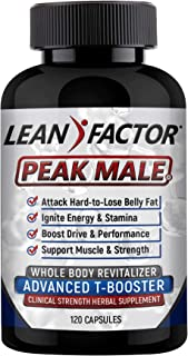 Peak Male: The Ultimate Men's Health Supplement - Raises T Levels, Builds Muscle & Strength, Boosts Energy ...
