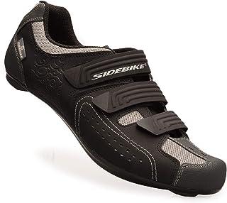 [SIDEBIKE] ビンディングシューズ ロード バイク スポーツ 自転車 サイクリング シューズ SD013-RD