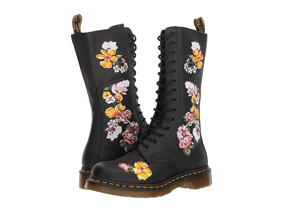 Dr. Martens 1914 Vonda II Floral (Black Softy T) Women