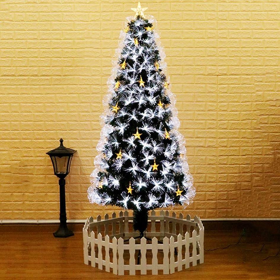 インタビュー海発症人工的 クリスマスツリー 光ファイバー, Pvc クリスマスツリーxmas松の木 メタルスタンド 容易な組み立て スプルース ツリーのヒンジ 屋内 装飾-120cm