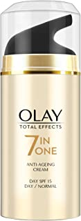 Olay Total Effects 7 In 1 Normal Anti Aging Skin Day Cream, SPF 15, 20g
