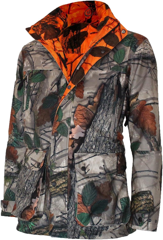 Binergy Hunting Men's Reversible Reversible Jacket Blaze orange, Heatable