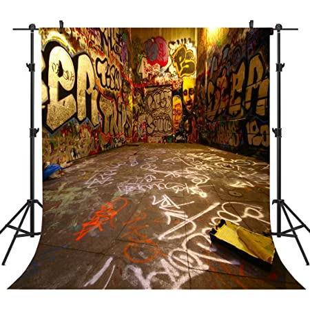 GoHeBe 10 x 7 ft Polyester United States Capitol Photography Backdrops Photo Studio Props Red Bus Background Room Mural 107-93