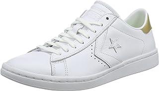 Converse PL LP Ox White/Light Gold Size 8