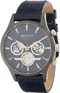 جانت ساعة رسمية للرجال، جلد، انالوج بعقارب - GT005015