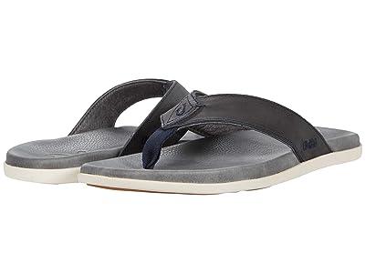 OluKai Nalukai Sandal (Vintage Indigo/Charcoal) Men