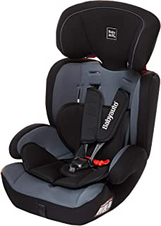 Babyauto Konar Car Seat, From Age 1 to 12 years,Group 1/2/3-Black