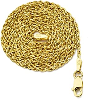 Best 36 inch gold rope chain Reviews