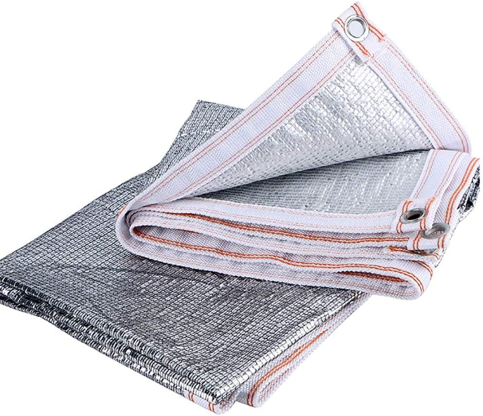 shopping WZHONG Silver Sunblock Shade Cloth Greenhouse Resistant UV Shad At the price of surprise
