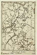 1873 Map of Moosehead Lake Maine, Moosehead Lake, Moosehead Lake Region, Region, United States
