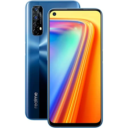 "realme 7 - Smartphone de 6.5"", 8GB RAM + 128GB ROM, Pantalla LCD FHD+, procesador Octa-Core Helio G95 Gaming, cuádruple cámara AI 64MP Sony + 16MP cámara Frontal. Dual SIM + 1 Micro SD. Azul Niebla"