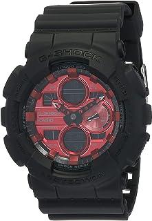 Casio Analog-Digital Red Dial Men's Watch-GA-140AR-1ADR (G1002)