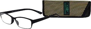 Select-A-Vision Flex 2 Lightweight Flexible Rectangular Readers, Black, 2.50