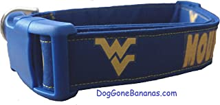 West Virginia University Mountaineers Dog Collar