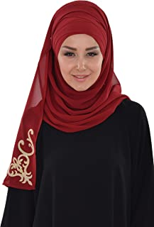 Shawl for Women Instant Lightweight Scarf Chiffon Modesty Turban Hat Head Wrap