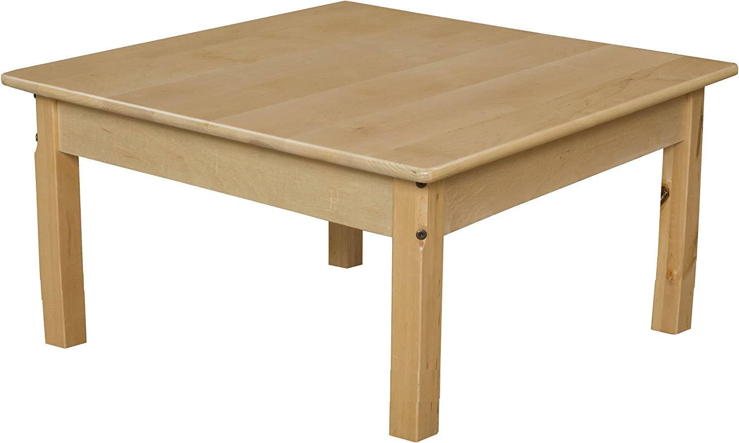 Wood Designs 83314 30  Square Hardwood Table with 14  Legs