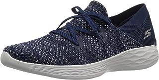 حذاء رياضي نسائي من Skechers Performance You-15807، أزرق بحري/رمادي، مقاس 6 M US