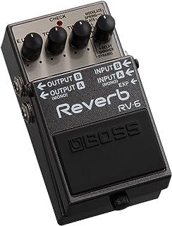 BOSS Reverb Guitar Pedal (RV-6)