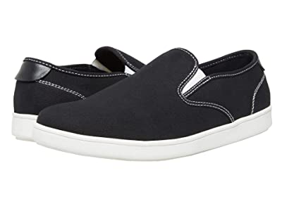 Steve Madden Fenta-S (Black Canvas) Men
