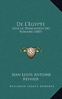De L'Egypte: Sous La Domination Des Romains (1807)