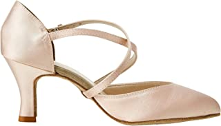 Bl156, Zapatos de Baile de Sociedad y Latina para Mujer