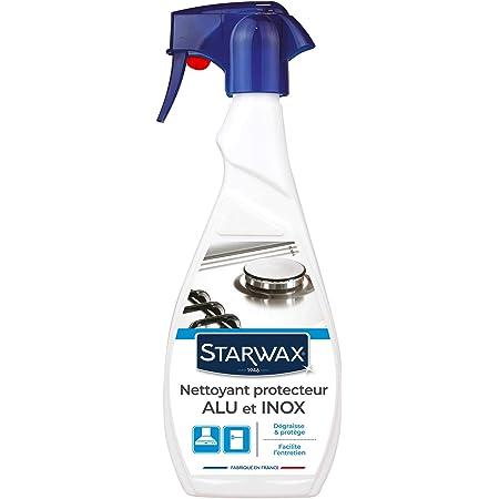 STARWAX Nettoyant Protecteur pour Alu et Inox - 500ml - Idéal pour Nettoyer les Surfaces en Alu et Inox