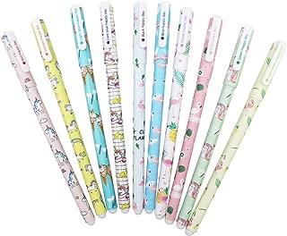 10 PCS Kawaii Colorful Pens- Lumcrissy Multi Colors Gel Pens Sweet-style Design Pin Type Ink Pen