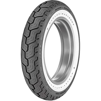 72H Dunlop American Elite Front Motorcycle Tire MT90B-16 Wide White Wall for Harley-Davidson Electra-Glide Classic FLHTC//I 1999-2008