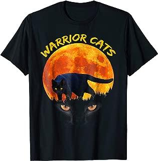 Black Warrior Cats , Loves Warrior Cats T-shirt