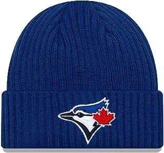 New Era Men's MLB Toronto Blue Jays Core Classic Knit Beanie Blue