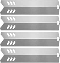 "Hisencn 15 inch Heat Plate Replacement for Dyna-glo DGF510SBP, DGF510SSP, Backyard GBC1460W, GBC1461W, BY13-101-001-13, Uniflame GBC1059WB, BHG, 15"" Stainless Steel Grill Heat Shield Tent Flame Tamer"