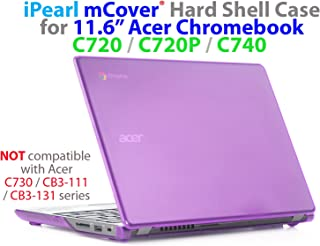 mCover Purple iPearl Hard Shell Case for 11.6