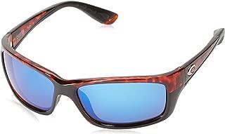 Costa Del Mar Jose Sunglasses, Tortoise, Blue Mirror 580 Glass Lens