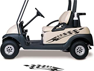Golf Cart Decals Side by Side Go Kart Stickers Auto Truck Racing Graphics GC90