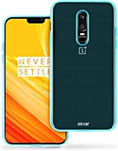 Olixar for OnePlus 6 Gel Case - Flexible Slim Silicone TPU - FlexiShield - Thin Protective Cover - Wireless Charging Compatible - Blue