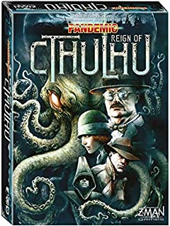 Z-Man Games Pandemic Reign of Cthulhu Board Game – engelsk version