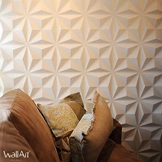 WallArt Paneles de Pared 3D Cullinans 12 Piezas GA-WA17
