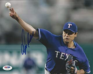 Signed Vicente Padilla Photo - 8x10#V62192 - PSA/DNA Certified - Autographed MLB Photos