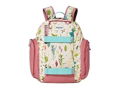 Burton Kids Metalhead 18L Backpack (Little Kids/Big Kids) (Creme Brulee Oakledge Floral) Backpack Bags