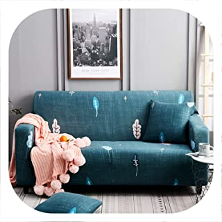 Memoirs- Stretch Sofa Cover Elastic Sofa Slipcovers All-Inclusive Couch Case for Different Shape Sofa Loveseat Chair L-Style Sofa Case,Color 2,3-Seater 190-230cm