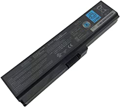 Bobo High Capacity 10.8V, 48Wh, Li-ion 6 Cell Laptop Battery for Toshiba PA3817 PA3817U-1BRS PA3819U-1BRS Toshiba Satellite C655 L600 L675 L675D L700 L745 L750 L750D L755 L755D M640 M645 P745 Series