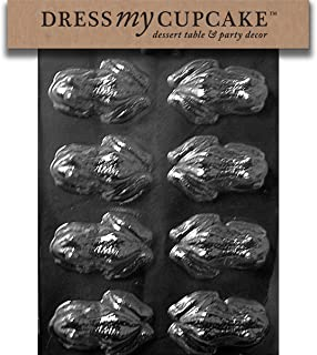 Dress My Cupcake DMCA126 Chocolate Candy Mold, Frog