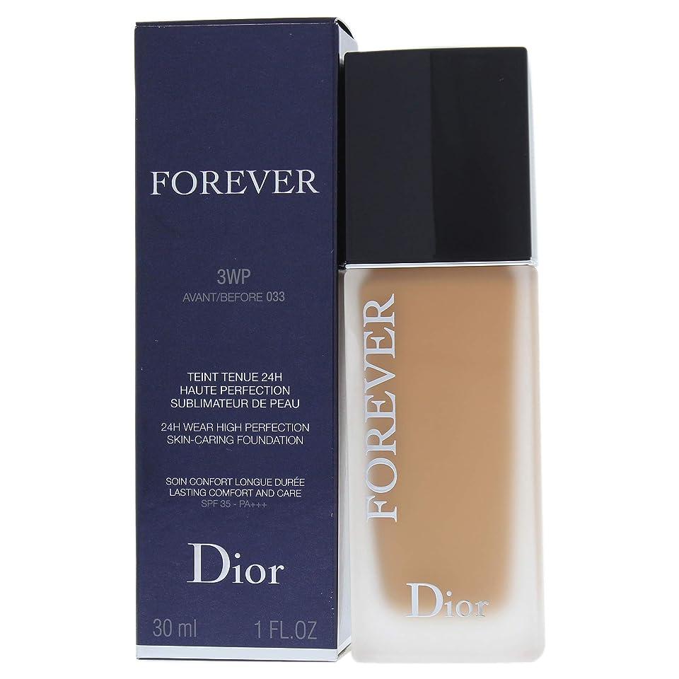 作業仕立て屋花に水をやるクリスチャンディオール Dior Forever 24H Wear High Perfection Foundation SPF 35 - # 3WP (Warm Peach) 30ml/1oz並行輸入品